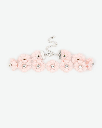 Flower Choker Necklace
