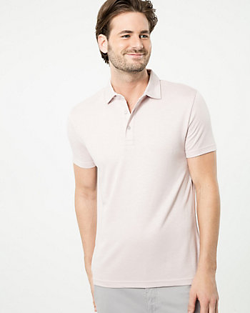Slub Polo Top