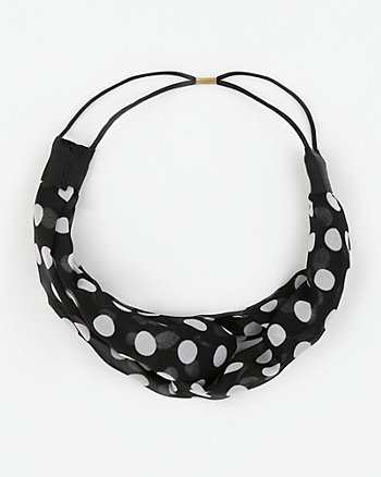 Dot Print Headband