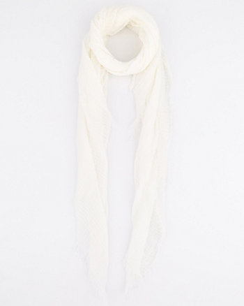 Stripe Viscose Lightweight Scarf