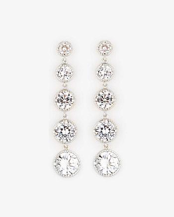 Gem Chandelier Earrings
