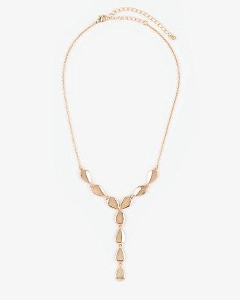Metal Y-Necklace