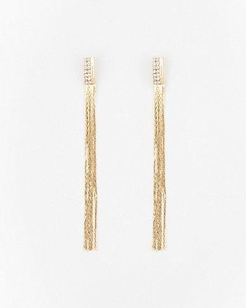 Multi-Strand Gem Earrings