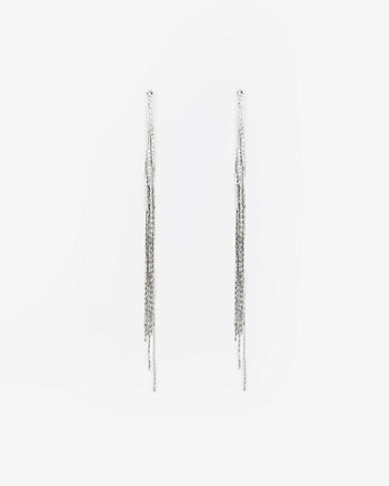 Multi-Strand Gem Earrings