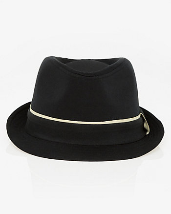 Cotton Twill Fedora Hat