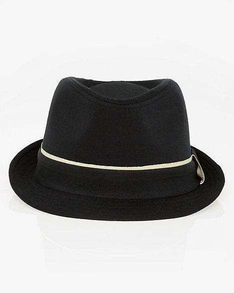 Cotton Twill Fedora Hat  38141033126