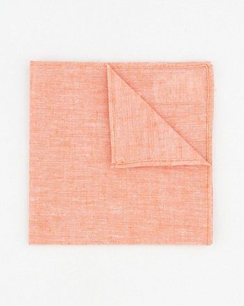 Linen Blend Pocket Square