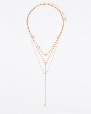 Gem Y-Necklace