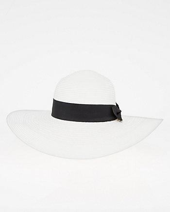 Woven Brim Hat