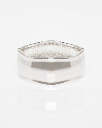 Metal Hinge Cuff Bracelet