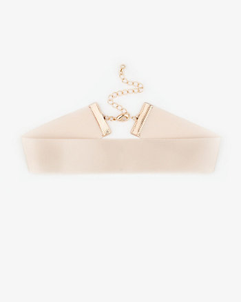 Satin Choker Necklace