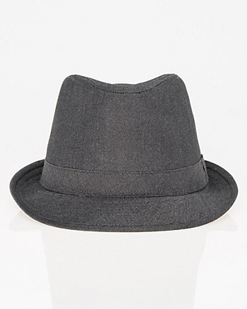 Viscose Blend Fedora Hat