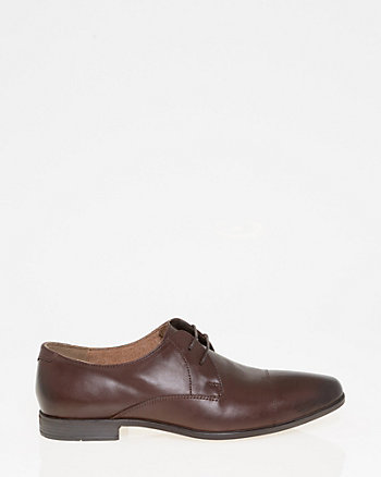 Leather Cap Toe Derby