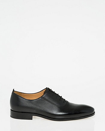 Italian-Made Perforated Leather Oxford