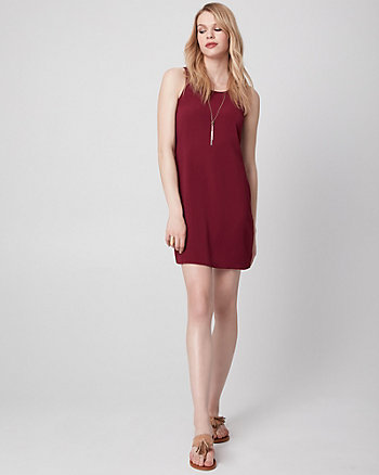 Pebble Crêpe Tunic Dress