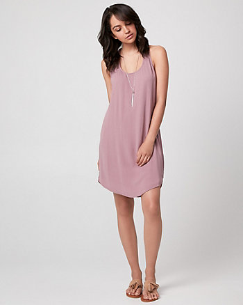Viscose Racerback Tunic Dress