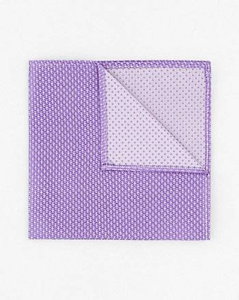Dot Print Silk Pocket Square
