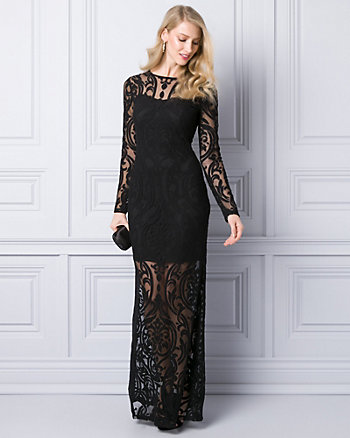 Burnout Illusion Gown
