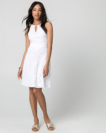 Crochet Halter Dress
