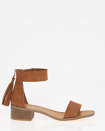 Fringe Ankle Cuff Sandal