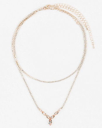 Gem Choker & Necklace