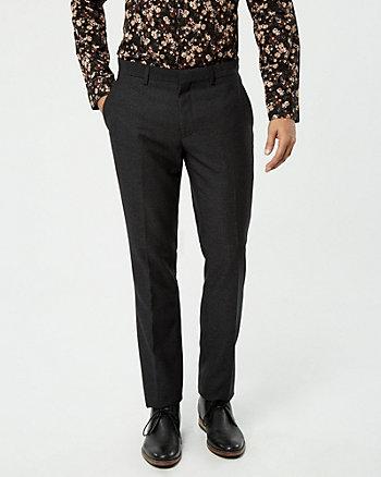 Tweed Slim Leg Pant