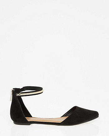 Ankle Strap d'Orsay Flat