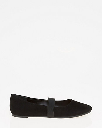 Pointy Toe Mary Jane Flat