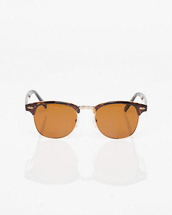 Tortoise Plastic Sunglasses