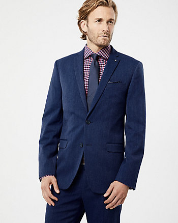 Woven Executive Fit Blazer