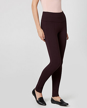 Legging en tricot point de Rome