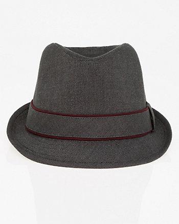 Tweed Fedora Hat