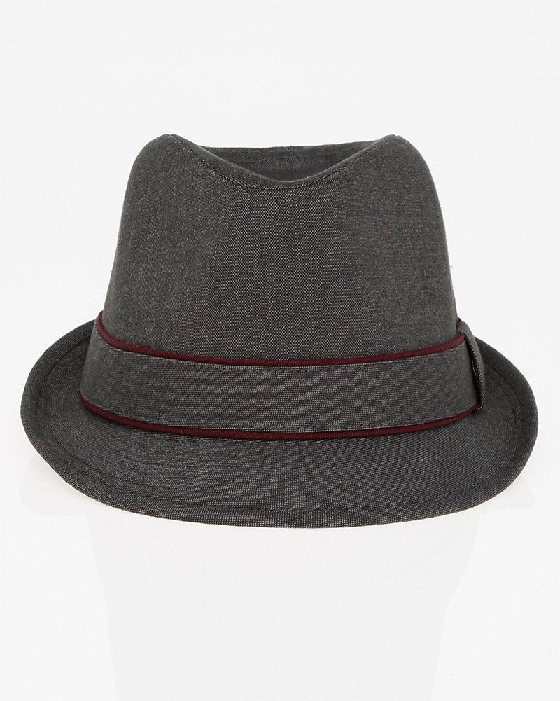 eacf9c882b094 Tweed Fedora Hat