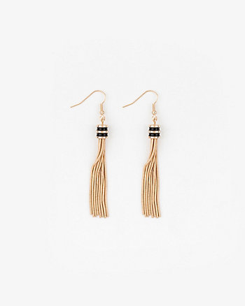 Metal Tassel Fringe Earrings