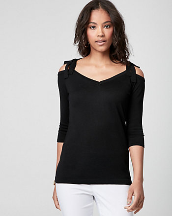 Viscose V-Neck Sweater