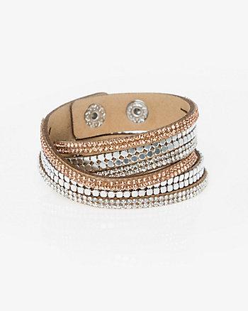 Gem Snap Bracelet
