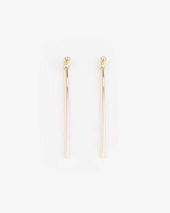 Metal Bar Earrings