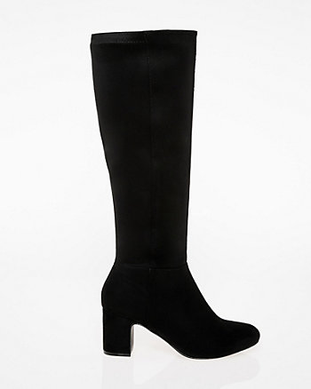 Almond Toe Knee-High Boot