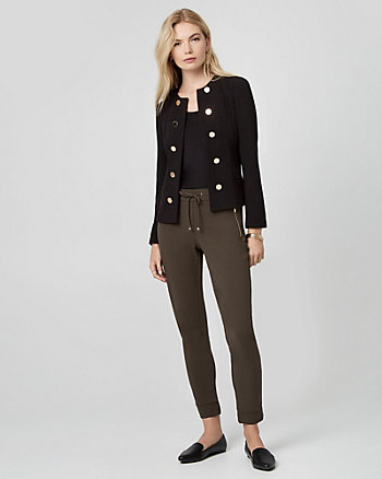 Double Weave Military Blazer