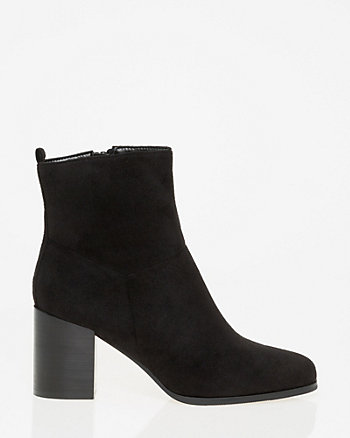 Square Toe Ankle Boot