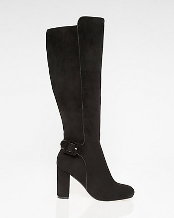 Square Toe Knee-High Boot