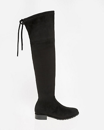 Almond Toe Over-the-Knee Boot