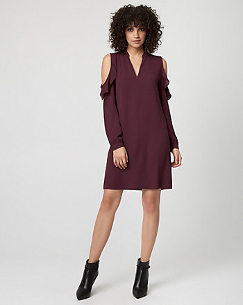 Crêpe de Chine Tunic Dress