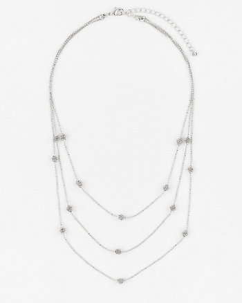 Multi-Row Collarbone Necklace