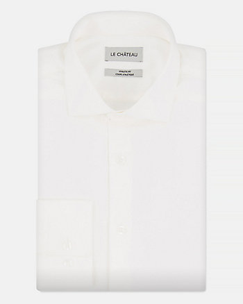 Stretch Sateen Athletic Fit Shirt