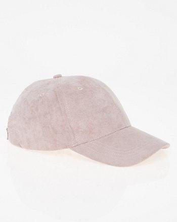 Suede-Like Baseball Cap