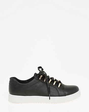 Lace-Up Platform Sneaker