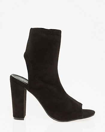 Cutout Peep Toe Shootie