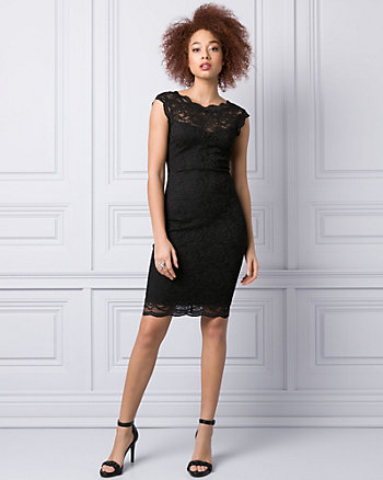 Lace dress midi quebec