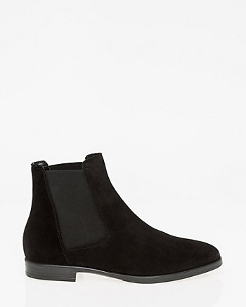 Suede Chelsea Ankle Boot